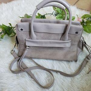 Louise Et Cie Stone Leather Satchel
